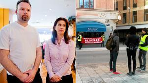 Jonny Larsson och Elahe Rouhdoust driver Pacos tillsammans med Reza Soufizadeh. I flera veckor har Syndikalisterna legat i konflikt med restaurangen.
