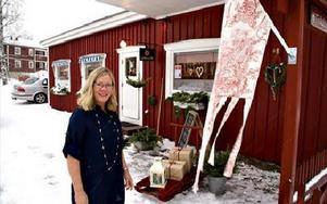 Det fallfärdiga huset i Vikarbyn rustades och precis idag har Margareta Gudmundson varit där i två års tid.FOTO: BENGT OLDHAMMER