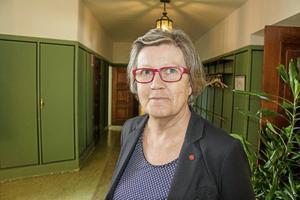 Elisabet Öhrnell (V) var kommunalråd i två år. När hon avgick i höstas fick hon ett engångsbelopp på drygt 13 000 kronor.