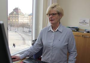 Omvårdnadschef Pia Joelsson säger att det lyckligtvis inte var några av de äldre som bestals.