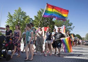 Pridefestivalen är mellan 25-31 juli i Stockholm.