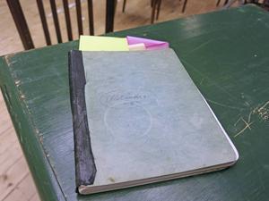 Dagboken som pjäsen baseras på.
