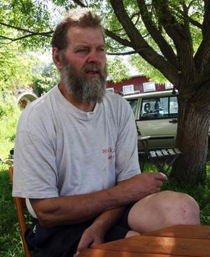– Det här är ett gammaldags och enklare sätt att leva, säger Olde Ljuslin.