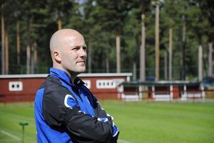 Anders Olsson har en hel del att fundera på inför lördagens match mot Huge.