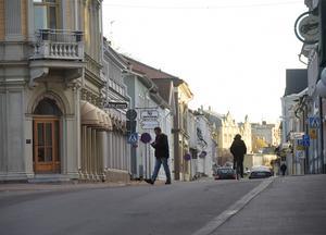 Det vackra Hudiksvall. Storgatan kan vara en inspiration till kommande byggen.