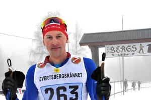 Anders Solin, IFK Mora, tog hem segern på 2:00:29 i H45 46km.