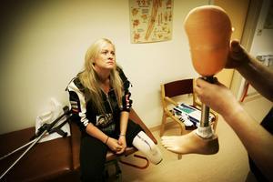 Sonia Elvstål har fått sitt p-tillstånd beviljat efter två års kamp.