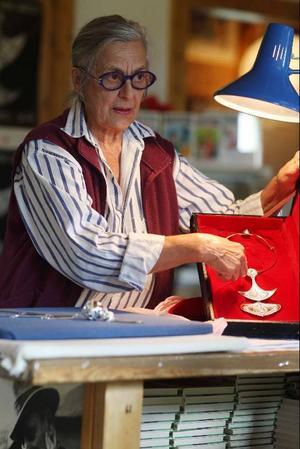Nu jobbar Rosa Taikon mot en utställning på Nordiska museet 2011.