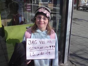 Maja Lindberg.