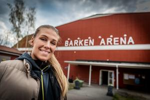 Malin Johansson är arrangör till motormässan.