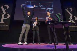 ProLounge tilldelades Publishingprisets Grand Prix i filmkategorin för sin film om mobbning. Utdelningen ägde rum på Berns i Stockholm den 23 oktober.