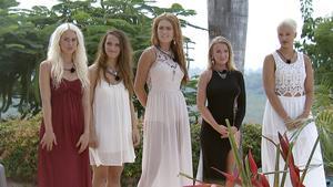 Anna-Katarina, Aina, Emilie, Evelina och Magdalena.