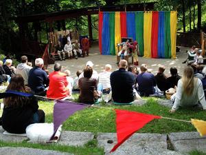 Robin Hood spelas under augusti på Gammelgården.