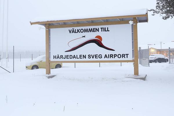 Allt fler vill flyga till Sveg.
