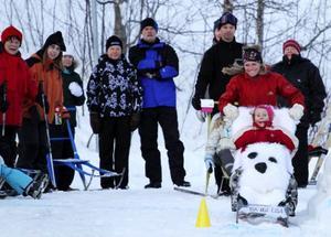 Karin Sundström och Lisa Lombard ger järnet på sparken Isa & Lisa i Slalomsparken.Foto: Stephane Lombard