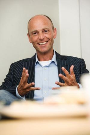 Ola Linnteg hoppas att IBF Falun inom en snar framtid kan presentera en ny ordförande.