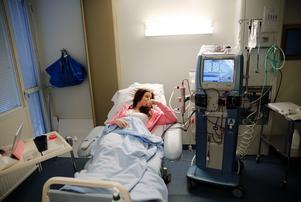 Transplantationsoperationen tog för Rebeccas del sju timmar.