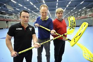 Patrik Bäck, Mats Andréason och Claes Hedlund är redo att befästa Falun som innebandyns huvudstad.