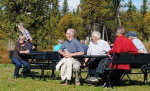Det blev en härlig dag för medlemmarna i SPF Gimådalen.   Foto: Gertrud Sunding