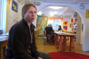 Skogsnässkolans rektor, Sara Schwieler, ger inte upp.