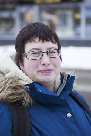 Marie Åström 37 år, Järvsö– När tågen är sena så man blir sen till jobbet.