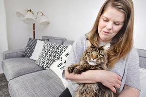 räddad av kontroll. Janita Strutz drabbades av livmoderhalscancer 2008. I dag mår hon bra men cancerbehandlingen har påverkat henne så att hon känner sig en annan människa. Foto: Rune Jensen