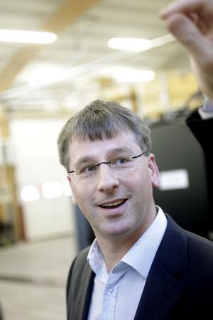 Johan Lundberg, platschef för Nilar i Gävle, är en av många anställda som är rekryterade från Ericssons nedlagda fabrik.