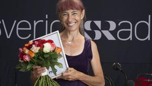 Marie-Chantal Long tilldelas Barnens romanpris 2015 för sin bok