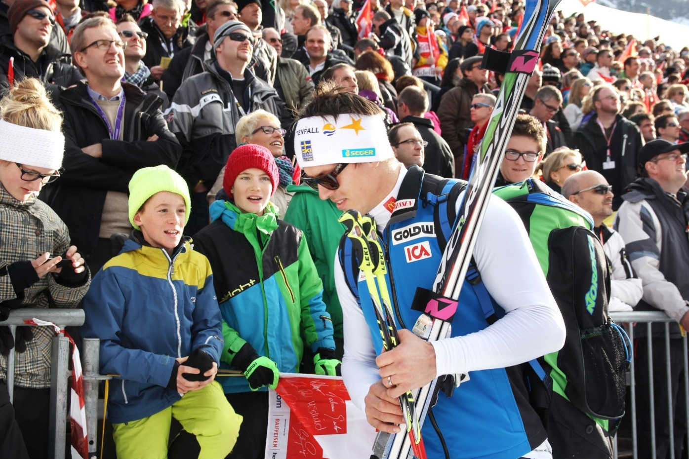 Myhrer tog hem slalomcupen