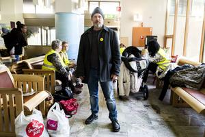 Max Nyman vill fortsätta kunna leva i glesbygd. Nu kämpar han för den möjligheten.