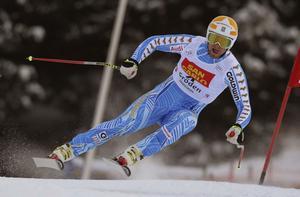 Snabbast på träning – men när tävlingen skulle avgöras var vindarna för starka för Hans Olsson.