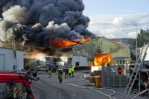 Beijerbranden mellan den 4 och 5 juni var den klart största händelsen under räddningsåret 2012 i Örnsköldsvik. Lågorna och röken som slog upp från lagret fyllt av virke och isolering syntes från stora delar av Örnsköldsvik.
