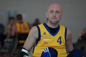 Lars Varnerud kommer i Septemeber att delta i Paralympics för första gången.