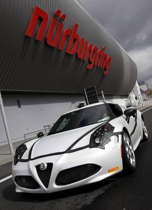 Alfa Romeo 4C.Foto: Alfa Romeo
