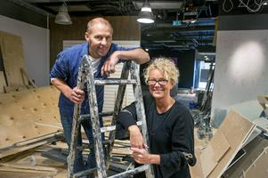 Efter nyår öppnar mode och designbutiken Crib på Storgatan i Sundsvall, en ny satsning av Peter Bergseije och Ewa-Lena Persson.
