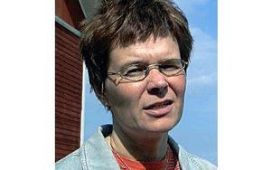 Britta Hermansson är pastor, föredragshållare, retreatledare och författare till böckerna Möten som Berör, Yttre tryck och vila samt Mogna  FOTO:CURT NILSSON