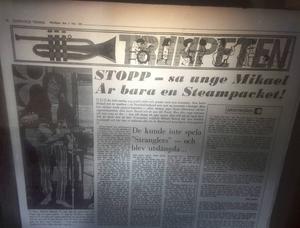 Trumpeten var Sundsvalls Tidnings första nöjessatsning för unga.