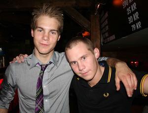 Konrad. Jimmy och David