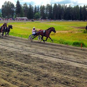 New Romanze och Jan-Olof Johansson rycker undan i sista sväng.