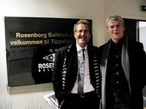 Kärt återseende. Tränarkollegorna Erik Hamrén i Rosenborg och Kalle Björklund, ÖFK, träffades på söndagskvällen på Lerkendal i Trondheim. Det blev trivsamt möte över en bit mat med många gemensamma gamla minnen.