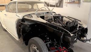 Borgward modell Isabella coupé -61. Mats Wiklunds vinterprojekt.
