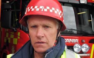 Hans-Erik Mattsson började arbeta på stationen 1978 och trivs med arbetet.