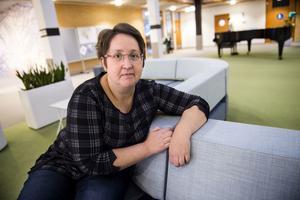 Annica Jonsson, Moderaternas gruppledare i Örnsköldsvik. Bild: Robbin Norgren