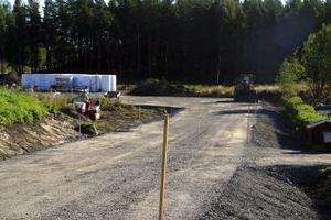 Det är länge sedan Ånge kommun fick bygga en väg till ett helt nytt industriområde.