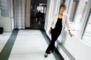 Folkpartisten Kerstin Weimar från Sveg toppar valsedlarna till riksdagen och landstinget inför valet 2010. Foto: Henrik Flygare