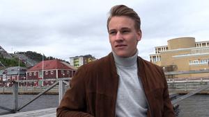 Allehanda.se satte sig ner med David Rundqvist i hamnen i Örnsköldsvik – hans nya hemstad.