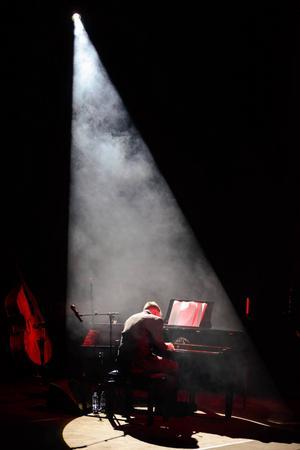Carola Häggkvists pianist Anders Widmark.