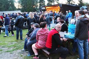 Publikrekord blev det under lördagens Logrock på gammelgården i Sveg.