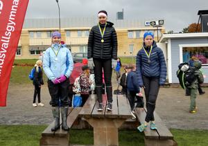 Irmelie Enström , Sundsvalls Montessoriskola, vann flickor 7-9-klassen. Enström fick tiden 27.20 och var före Astrid Rex , Engelska skolan och Julia Nordlander, Heliås Sidsjön.