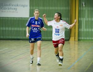 Helena Hansson – en välbekant profil i sporthallen.